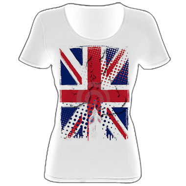 майки с флагом великобритании - Магазин прикольных маек.