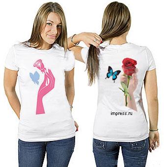Печать на футболках майках толстовках больших размеров рисунков фото...
