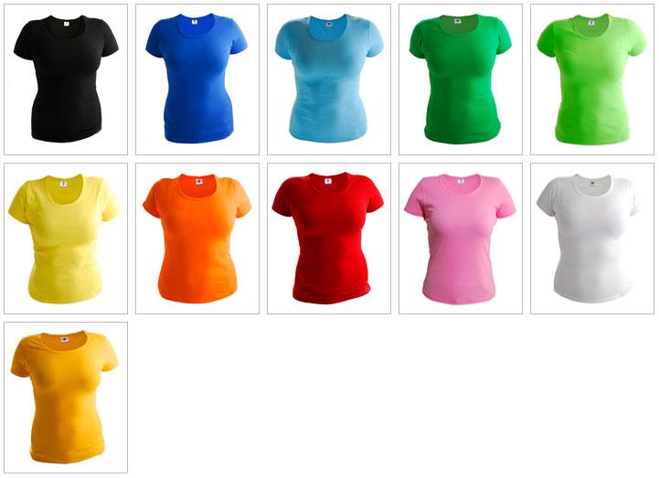 1f66881832aa8 Футболка женская с коротким рукавом хлопок размер S M L 2XL черная белая  оранжевая красная зеленая синяя темно